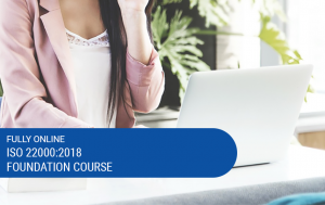 Online ISO 22000:2018 Foundation Course Image