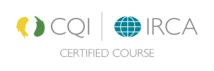 This course is CQI & IRCA Certified (Course No. 2149)!