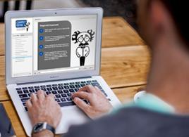 Online ISO Training on Laptop Image 1