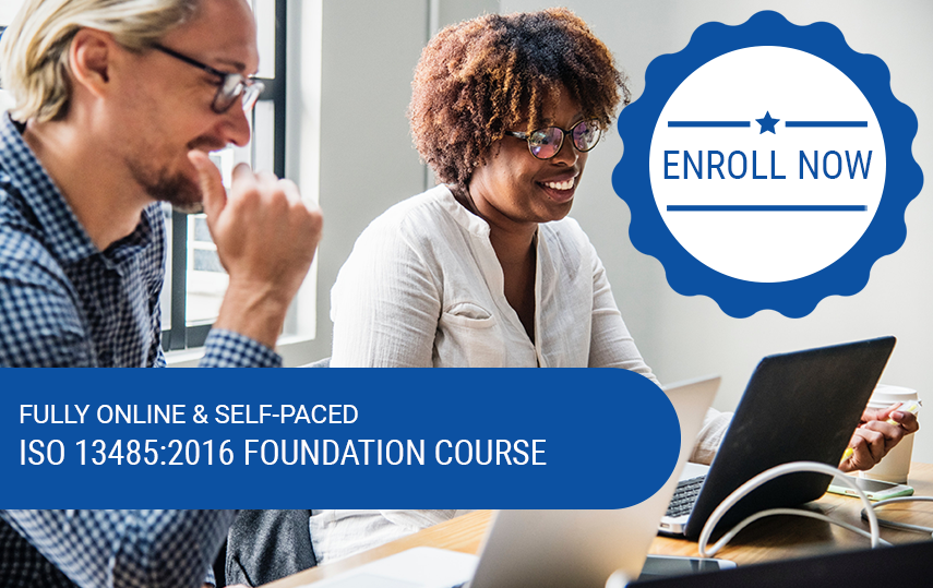 Online & Self-Paced ISO 13485:2016 In-Depth Foundation Course (CQI & IRCA Pending)