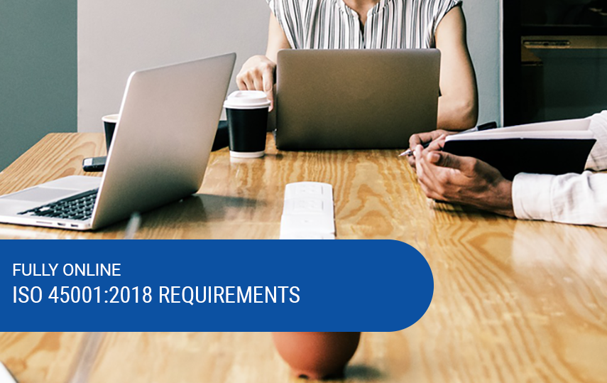 Online & Self-Paced ISO 45001:2018 Foundation Training
