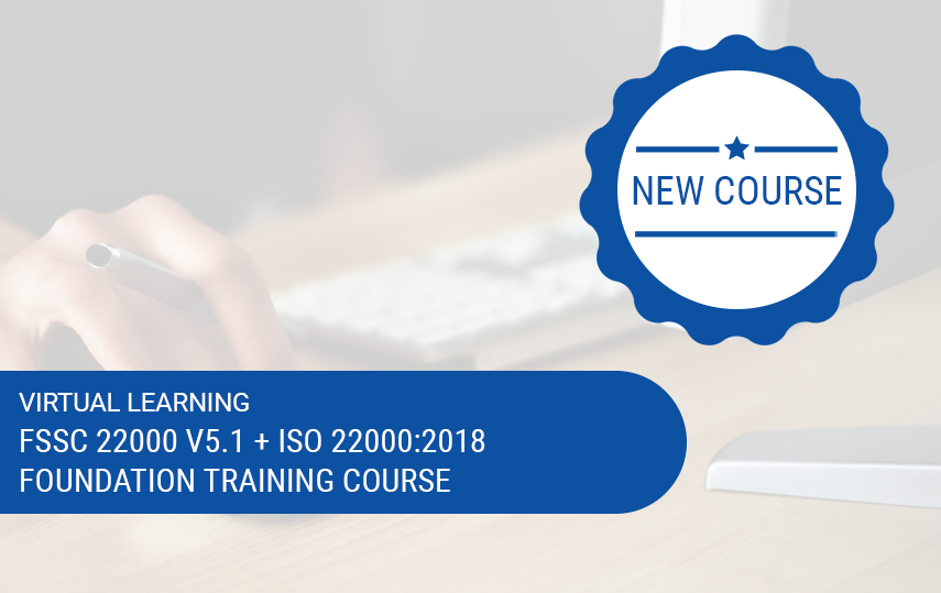 Online FSSC 22000 Version 5.1 (incl. ISO 22000:2018) Foundation Training