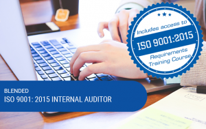 Blended ISO 9001:2015 Internal Auditor Training