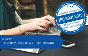 Blended ISO 9001:2015 Lead Auditor Training