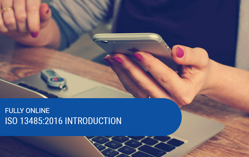 Online Introduction to ISO 13485:2016 Training