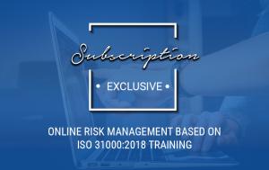 Online Risk Management based on ISO 31000:2018 Training