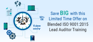 €595pp for Blended ISO 9001:2015 Lead Auditor Training — Draft