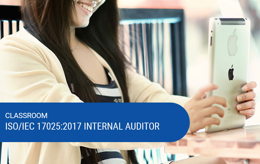 ISO/IEC 17025:2017 Internal Auditor Training