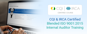 CQI IRCA Certified ISO 9001 Internal Auditor Training