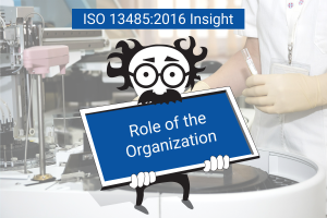 ISO 13485:2016 Role of the Organization