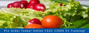 Pre-Order FSSC 22000 V5 Training Banner