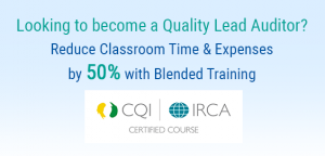 Looking to become a Quality Lead Auditor?