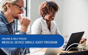 Online Medical Device Single Audit Program Image