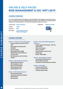 Course-Summary---ISO-14971-risk-medical-devices-V1