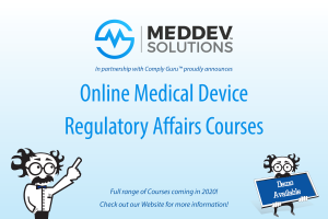 Online Medical Device Regulatory Affairs Courses