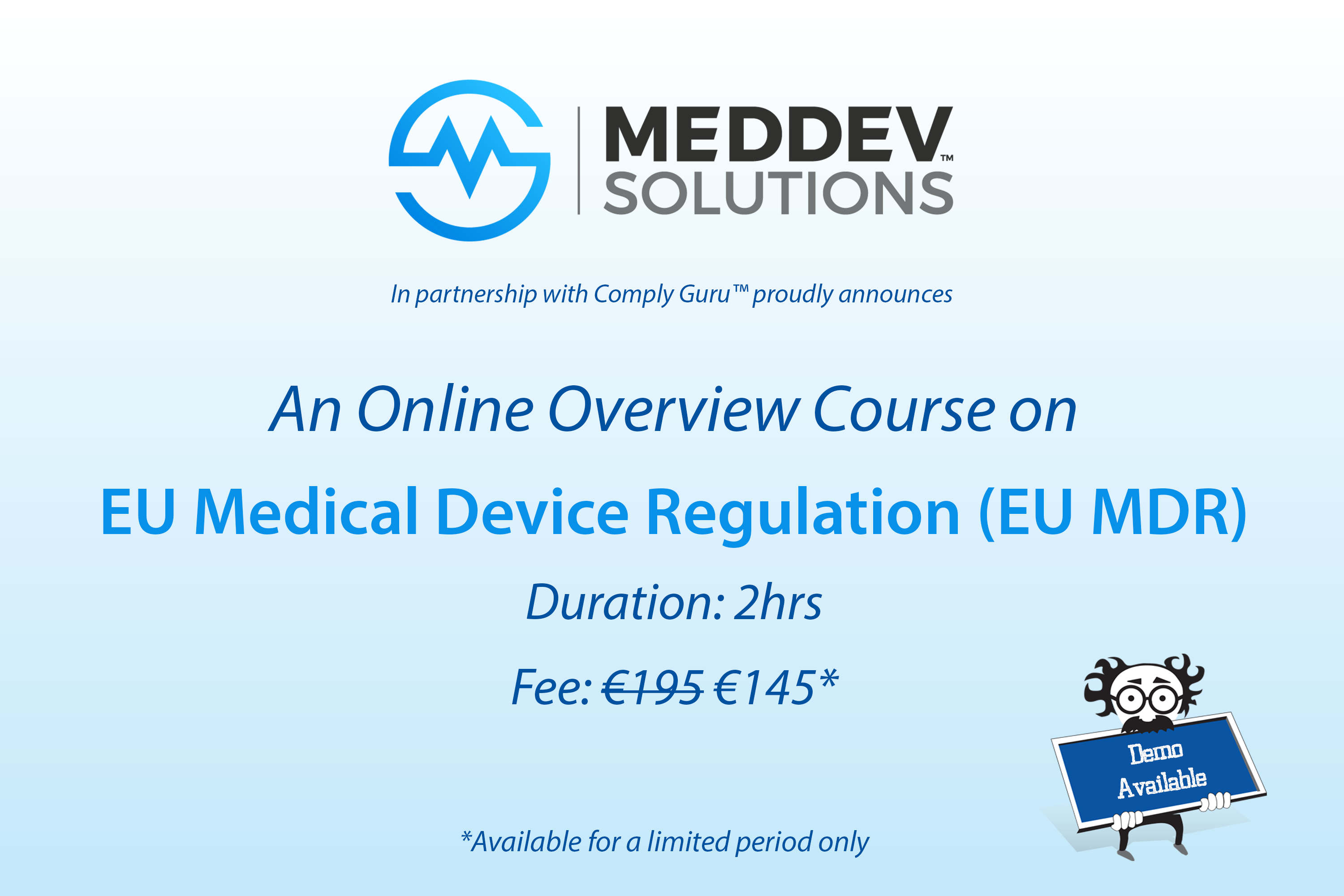 Wow! An Online Overview of the EU MDR Course!