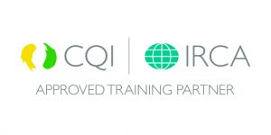 CQI and IRCA Approved Training Partner Logo 5