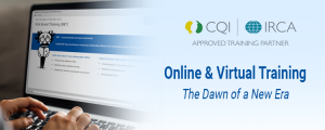 Online and Virtual Training - The Dawn of a New Era