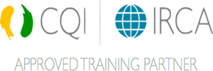 CQI and IRCA Approved Training Partner Logo 3