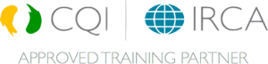CQI and IRCA Approved Training Partner Logo 1