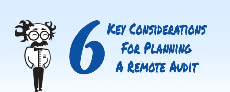 6 Key Considerations for Planning a Remote Audit