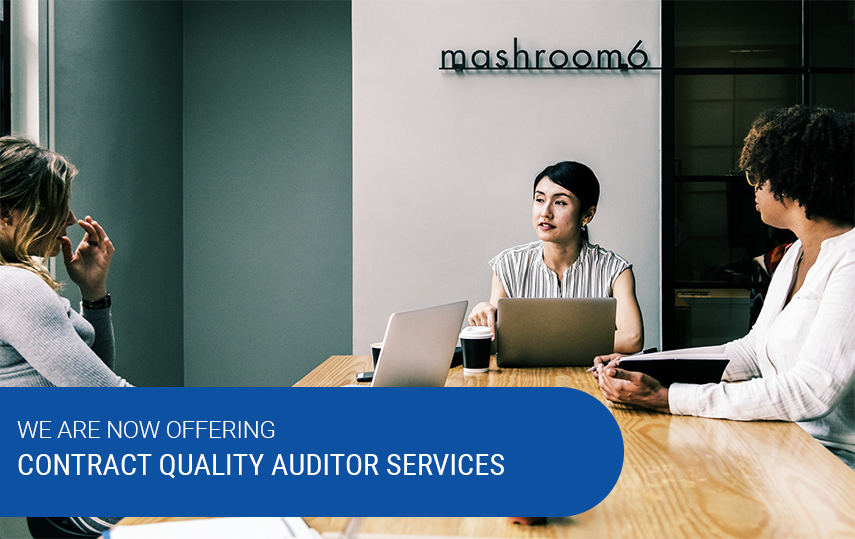 New Service – Contract Quality Auditor Services