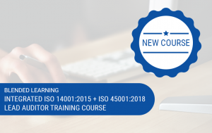 Blended Integrated ISO 14001 + ISO 45001 Lead Auditor Training Image